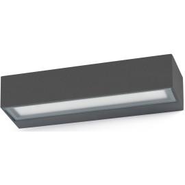 Applique moderne extérieure LED aluminium gris foncé Astra