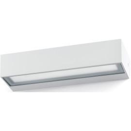 Applique moderne extérieure LED aluminium blanc Astra