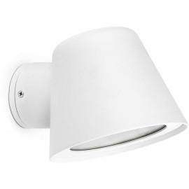 Applique moderne pouréclairage extérieuren aluminium blanc Valeria