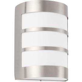 Applique moderne extérieure en acier inoxydable 3 lignes Aubame