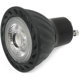 Ampoule LED noire GU10 8W Ø5 cm 500Lm