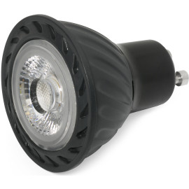 Ampoule LED noire GU10 8W Ø5 cm 520Lm