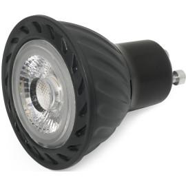 Ampoule LED noire GU10 8W Ø5 cm 500Lm Dimmable