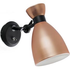 Applique design en métal cuivré Mathilde