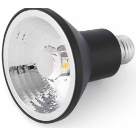 Ampoule noire LED E27 15W Ø9,5 cm 700Lm