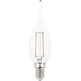 Ampoule flamme LED E14 2W 3,5 cm H12,5 cm 220Lm