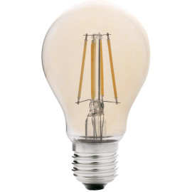 Ampoule decorative ambre LED E27 6W Ø6 cm 550 Lm