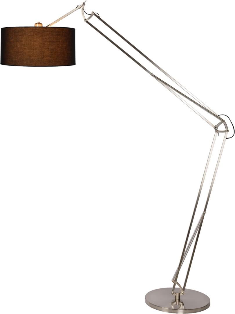 lampadaire de salon design articul chrome d poli thalis. Black Bedroom Furniture Sets. Home Design Ideas
