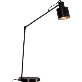 Lampadaire articulé vintage en métal noir Capucine