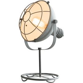 Lampe de table industrielle en métal gris Ø 28 cm Selma