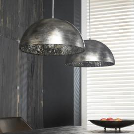 Suspension industrielle en métal 2xØ40 cm Julien