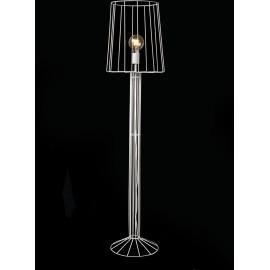Lampadaire design en métal blanc Marina