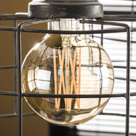 Ampoule LED filament E27 40W Ø9,5 cm